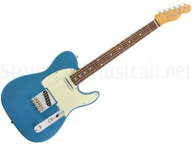 Fender Vintera 60s Telecaster Modified Pf Lake Placid Blue - Chitarra Elettrica Blu
