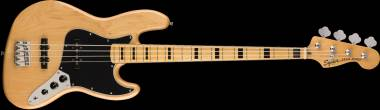 Fender Squier Classic Vibe '70s Jazz Bass®, Maple Fingerboard, Natural Spedizione Gratuita!!!!