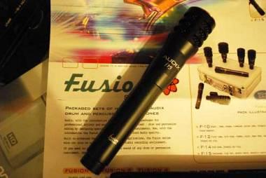Audix F15 microfono per chitarra,panoramico,Hi Hat ecc.Spedizione Inclusa