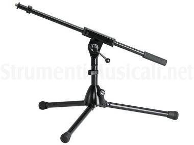 Konig & Meyer 259/1 Microphone Stand Black - Asta A Giraffa Per Grancassa Nera