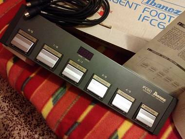 IBANEZ IFC-60 Controller DIN MIDI IMG-2010 MC-1 SDR-1000 vintage – nuovo