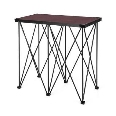 Tavolino DJ richiudibile Amabilia 50x100 Black Edition da 40cm