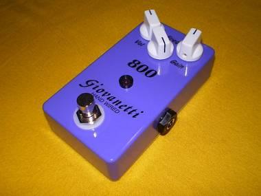 Giovanetti Hand Wired Lovepedal Purple Plexi 800 Clone