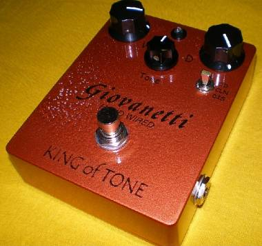 Giovanetti Hand Wired AnalogMan King of Tone clone