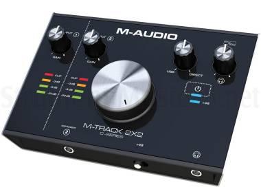 M-audio M-track 2x2 - Interfaccia Audio Usb 2-in / 2-out 24bit /192khz