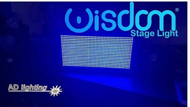 Effetti luce Dmx dj disco strobo1000 led 3000w wash matrix blinder rgb  WHITE