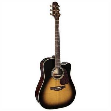 Takamine PS 5 DC-TB Pro Series Selected tobacco burst - made in Japan