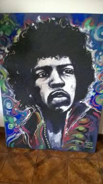 Quadro Jimi Hendrix - ritratto
