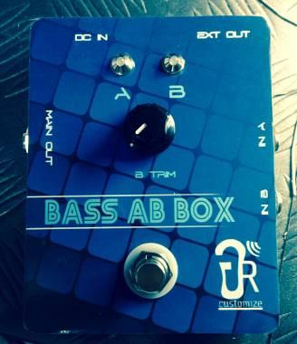 GrCustomize Bass Ab Box Looper Splitter per basso con regolazione volume