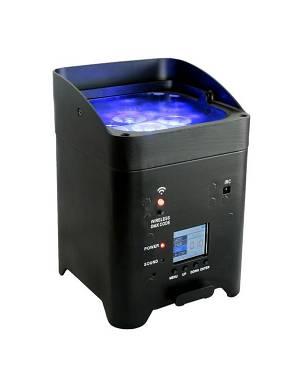 FARETTO PAR LED WIRELESS A BATTERIA FX 6X15W RGBWA 5in1