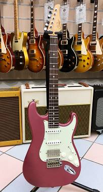 SUHR CLASSIC S LIMITED EDITION HSS ANTIQUE ROASTED BURGUNDY MIST