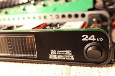 MOTU  24 I/O  UP GRADE  . Best sound.