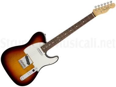 Fender American Original '60s Telecaster Rw 3-color Sunburst - Chitarra Elettrica Sunburst 3 Colori