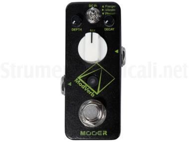 Mooer Modverb - Riverbero + Modulazioni - Effetto Modulazione / Riverbero A Pedale Per Chitarra