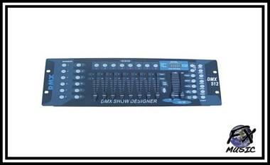 CENTRALINA LUCI DMX FX-CONTROL 192/8 - 192 CANALI DMX512 - 8 SLIDER
