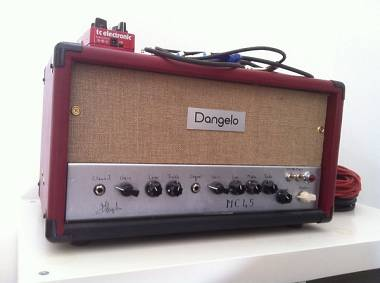 Dangelo Amplifiers DANGELO TESTATA HAND MADE - MC45