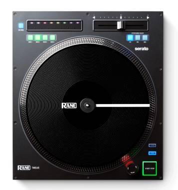 RANE TWELVE CONTROLLER PER DJ CON PIATTO MOTORIZZATO 12¿ PER SERATO INTERFACCIA MIDI USB