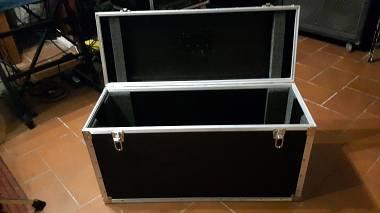 Flight Case per testata chitarra elettrica cassa coni 4x12 e 2x12 amplificatore