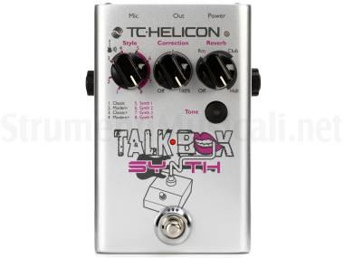 Tc Helicon Talkbox Synth - Effetto Talk Box A Pedale Per Chitarra