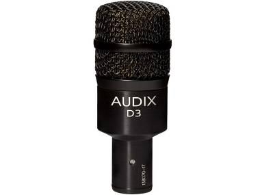 Audix Microfono D3 per Tom, Timpano, Basso, Chitarra