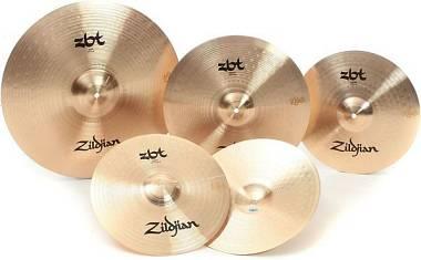 """Zildjian SET 5 PIATTI ZBT Pro ZBTP390-A ride 20""""+ hi-hat 14"""" + 2 crash 16""""-18"""""""