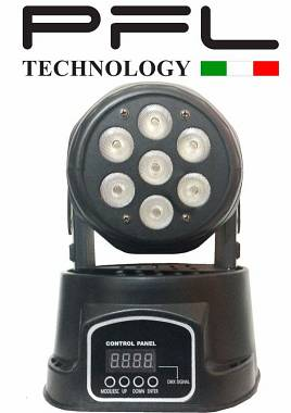 TESTA MOBILE LED WASH 7x10 W RGBW 4 in 1