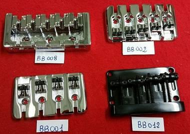 Ponti x basso, Pick up per basso, 4 e 5 corde