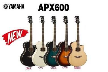 Yamaha APX 600 - Chitarra Acustica Elettrificata - Colori Vari Disponibili