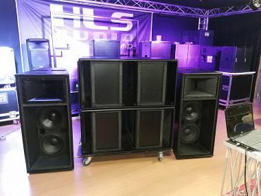 Martin Audio W8C-212 + SUB WLX 218 (foto senza griglie)