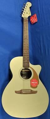 Fender NEWPORTER PLAYER CHP -  WN - CHAMPAGNE - Chitarra Acustica Elettrificata