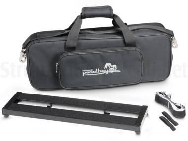 Palmer Pedalbay 50 S - Pedana Regolabile Per Effetti A Pedale In Alluminio Con Borsa 50cm Short