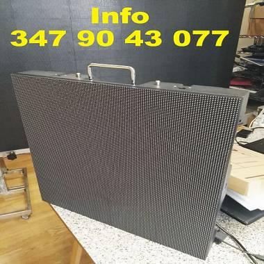 LEDWALL  mt 1,92X3,84 PASSO 4 OUTDOOR - ACCONTO € 2300+IVA E 60 RATE DA €120+IVA