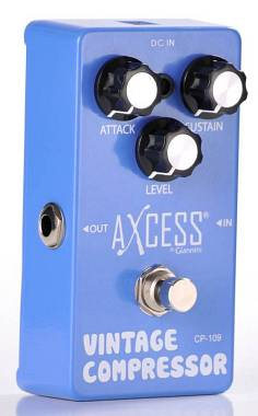 Giannini Axcess CP109 pedale Compressore True By Pass. Spedizione Inclusa