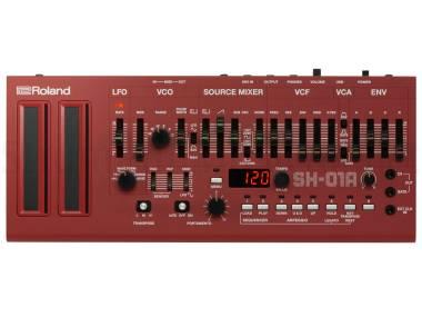 Roland Sh-01a Rd Red - Boutique Limited Edition - Modulo Sintetizzatore 4 Voci Rosso