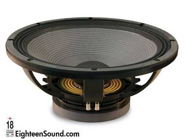 NUOVO Eighteen Sound (18 Sound) LW 2400 Singolo Woofer ancora imballato