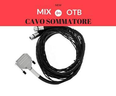 CAVO SOMMATORE passivo , alta qualità, utilizzabile con preamplificatore mic