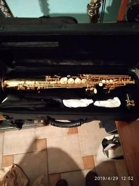 Vendo sax soprano royal winds