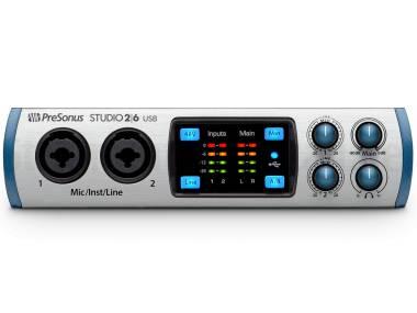 Presonus Studio 26 - Interfaccia Audio Usb 2x4 Con 2 Preamp Microfonici Xmax-l