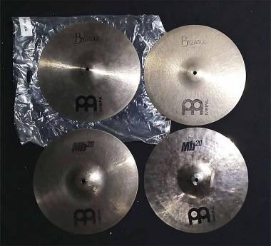 "Meinl MB20 Heavy Soundwave - BYZANCE Traditional Heavy - Hi Hat da 14"""