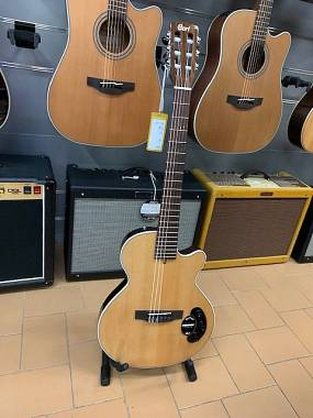 Cort Sunset Nylectric Classica Solid Body Amplificata Fishman