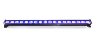 BARRA A LED FX UV BAR 18 x 3W - EFFETTO WOOD