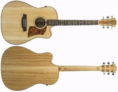 Cole Clark Guitars FAT LADY 2 CCFL2EC-BM DREADNOUGHT CUTAWAY NATURAL