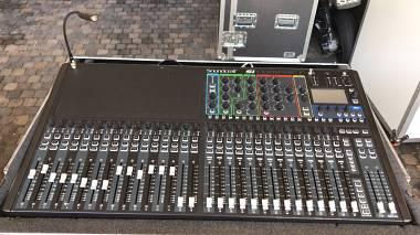 Soundcraft Si Compact 32 + MADI + Case Originale ( No Expression 1 2 3 )