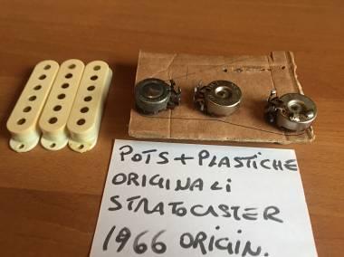 Fender stratocaster pot 1966 NO REISSUE + electr. accessories