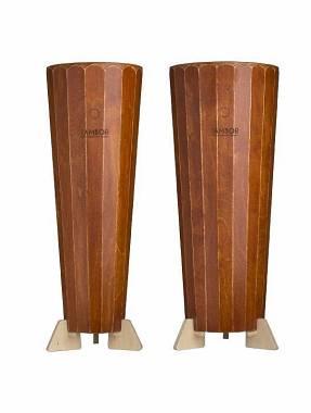 Coppia Conga Cajon Artigianale Quinto e Tumba modello Mogano