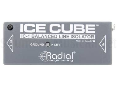 Radial Icecube Ic-1 - Isolatore Di Linea Bilanciato