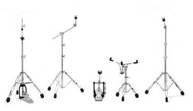 Gibraltar Kit Hardware 5700PK : 2aste,pedale,reggirullante,hihat