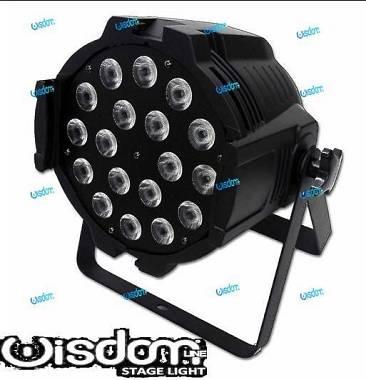 Par LED 18x10W RGBW 4IN1 FULL COLOR alta qualità, ESTREMAMENTE LUMINOSI