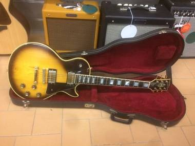 Gibson Les Paul Custom Sunburst anno 1976 + CASE