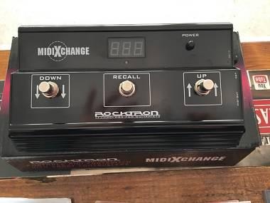 Rocktron midi Xchange  PEDALIERA DI CONTROLLO MIDI
